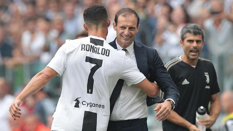Allegri Salut dengan Profesionalisme Cristiano Ronaldo
