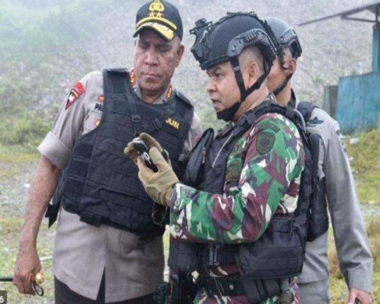 Polri Sebut Keadaan Papua Sudah Kondusif Setelah Penembakan KKB